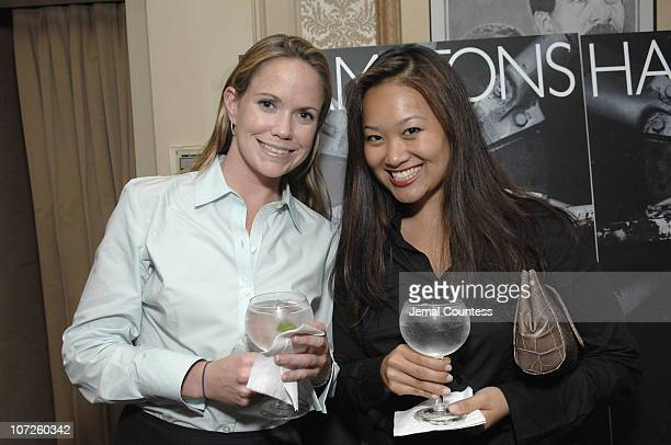 Amy Peloquin and Helen Shen during Dinner Party with Kevin Connolly Hosted by Jason Binn of Gotham Hamptons Magazine at The Friars Club in New York...