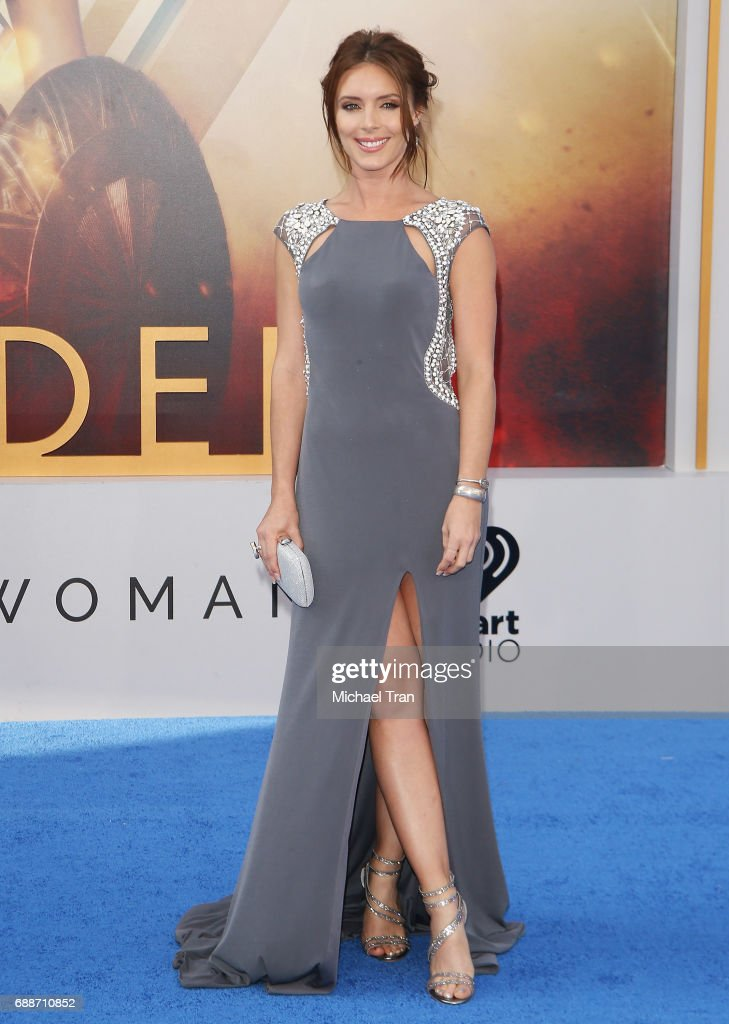 Amy Pemberton arrives at the Los Angeles premiere of Warner Bros. Pictures' 'Wonder Woman' held at the Pantages Theatre on May 25, 2017 in Hollywood, California.