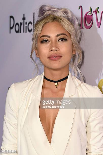Amy Pham arrives at GOD vs TRUMP Only Love Wins Movie Premiere on November 7 2016 in Los Angeles California