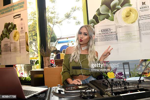 Amy Pham attends Kiehl's Since 1851 celebration of LifeRide for Ovarian Cancer Research Fund Alliance at Kiehl's Since 1851 on September 22 2016 in...
