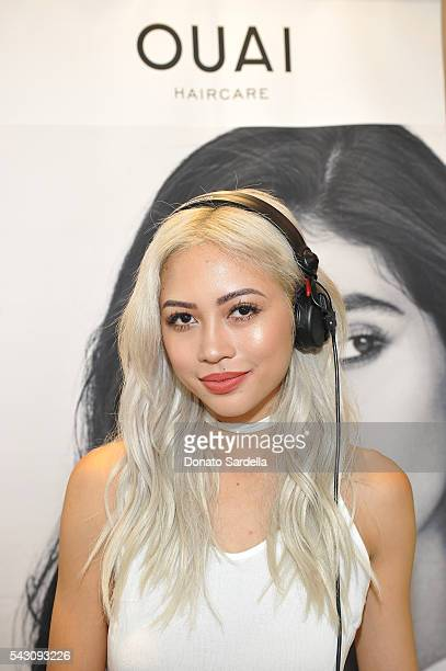 Amy Pham attends OUAI And Jen Atkin Personal Appearance Event At Sephora at The Commons in Calabasas on June 25 2016