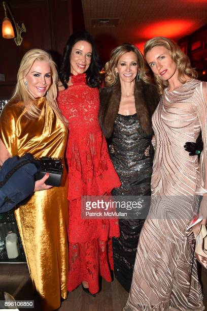 Amy Phelan Kim Heirston Evans Ulla Parker and Jennifer Kennedy attend Julie Macklowe's 40th birthday Spectacular at La Goulue on December 19 2017 in...