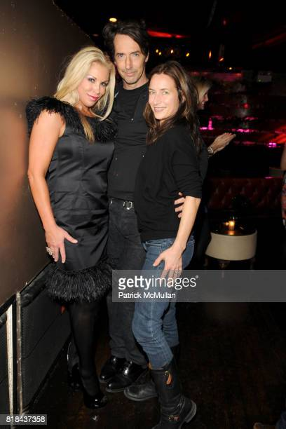 Amy Phelan, Richard Phillips and Josephine Meckseper attend NEW YORK JUNIOR LEAGUE Most Outstanding Volunteer Party for AMY PHELAN at Pink Elephant...