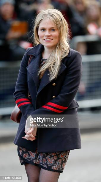 Amy Pickerill assistant Private Secretary to Meghan Duchess of Sussex attends a Commonwealth Day Youth Event at Canada House on March 11 2019 in...