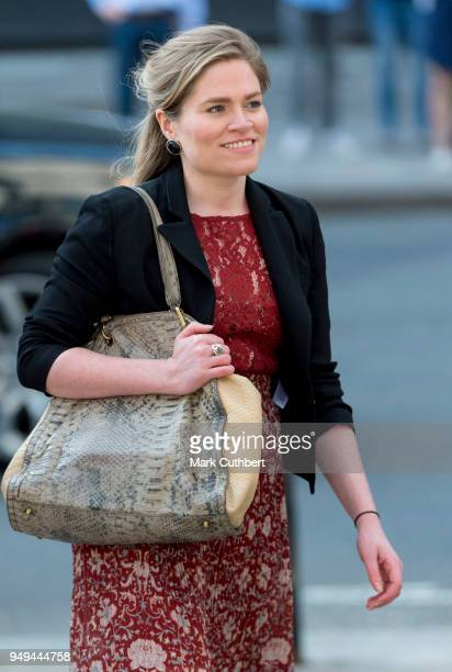 Amy Pickerill attends the Invictus Games Reception at Australia House on April 21 2018 in London England