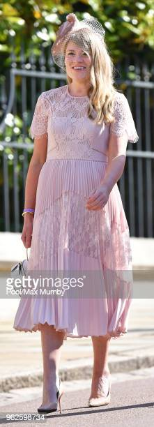 Amy Pickerill attends the wedding of Prince Harry to Ms Meghan Markle at St George's Chapel Windsor Castle on May 19 2018 in Windsor England Prince...