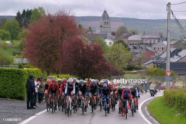 Amy Pieters of The Netherlands and Boels Dolmans Cycling Team / Lucinda Brand of The Netherlands and Team Sunweb / Juliette Labous of France and Team...