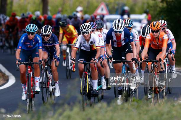 Amy Pieters of The Netherlands / Katia Ragusa of Italy / Lisa Brennauer of Germany / Grace Brown of Australia / Alice Barnes of The United Kingdom /...