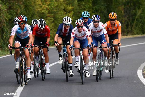 Amy Pieters of The Netherlands / Katia Ragusa of Italy / Lisa Brennauer of Germany / Tayler Wiles of The United States / Margarita Victoria Garcia...