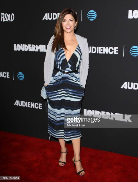 Amy Pietz arrives at the Los Angeles premiere of ATT Audience Network's 'Loudermilk' and 'Hit The Road' held at ArcLight Cinemas on October 10 2017...