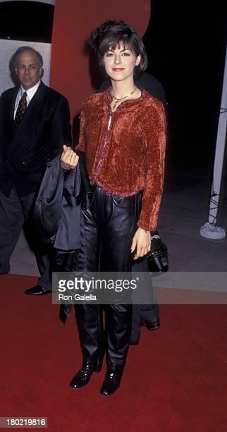 Amy Pietz attends NBC TV Winter Press Tour on January 16 1996 at the Ritz Carlton Hotel in Pasadena California