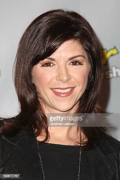 Amy Pietz attends the 'The Office' Series Finale Wrap Party at Unici Casa Gallery on March 16 2013 in Culver City California
