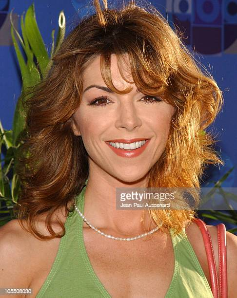 Amy Pietz during 2004 ABC All Star Summer Party at C2 Cafe in Century City California United States