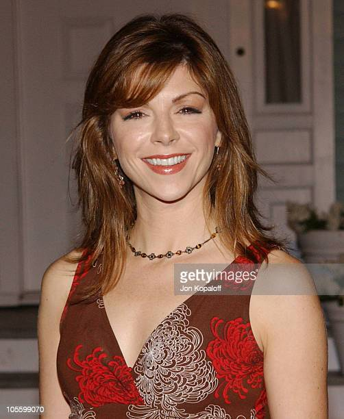 Amy Pietz during 2005 ABC Winter Press Tour Party Arrivals at Universal Studios in Universal City California United States