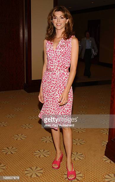 Amy Pietz during ABC 2004 Summer Press Tour Day 1 at Century Plaza Hotel in Century City California United States