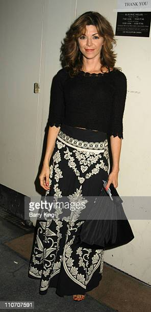 Amy Pietz during Reprise Broadway's Best 'Company' Play Opening at UCLA's Freud Playhouse in Los Angeles California United States