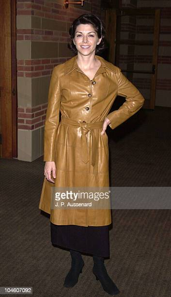 Amy Pietz during Revlon/Ucla Breast Center Benefit at UCLA Royce Hall in Westwood California United States