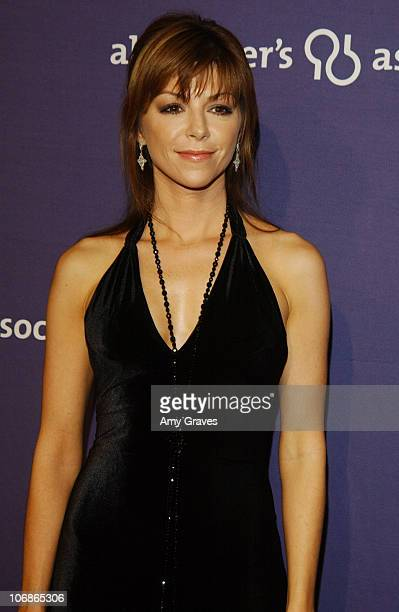 Amy Pietz during The Alzheimer's Association's 14th Annual 'A Night at Sardi's' Celebrity Fundraiser and Awards Dinner at Beverly Hilton Hotel in...