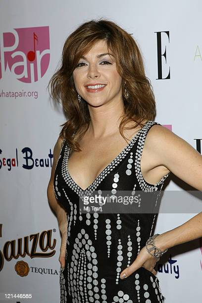 Amy Pietz during 'What A Pair 5' at The Orpheum in Los Angeles California United States