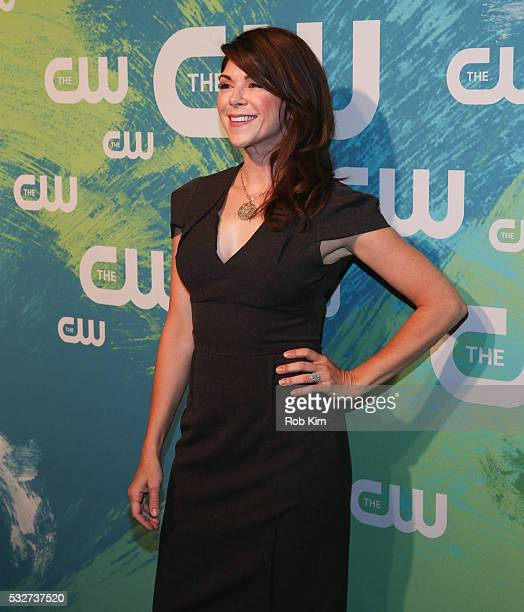 Amy Pietz of the series No Tomorrow attends The CW Network's 2016 New York Upfront Presentation at The London Hotel on May 19 2016 in New York City