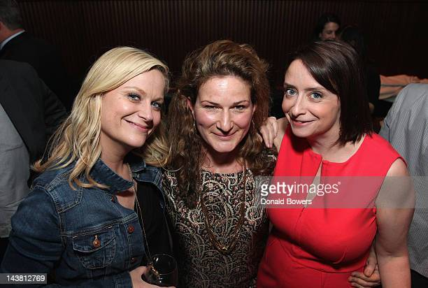 Amy Poehler Ana Gasteyer and Rachel Dratch attend 'Girl Walks Into A Bar' By Rachel Dratch Book Party at Royalton at The Royalton Hotel on May 3 2012...