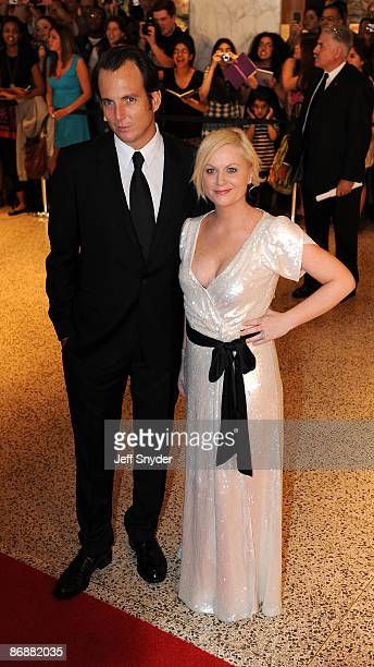 Amy Poehler and Will Arnett attends the 2009 White House Correspondents' Association Dinner at the Washington Hilton on May 9 2009 in Washington DC