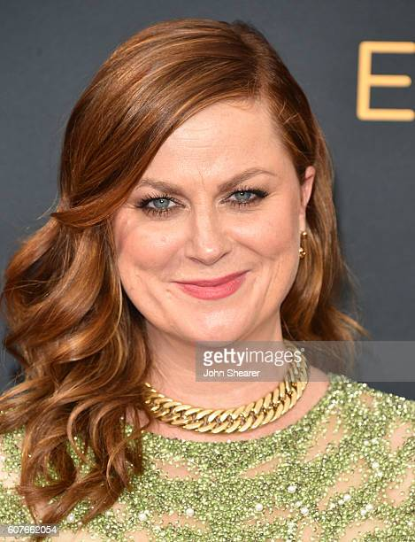 Amy Poehler arrives at the 68th Annual Primetime Emmy Awards at Microsoft Theater on September 18 2016 in Los Angeles California