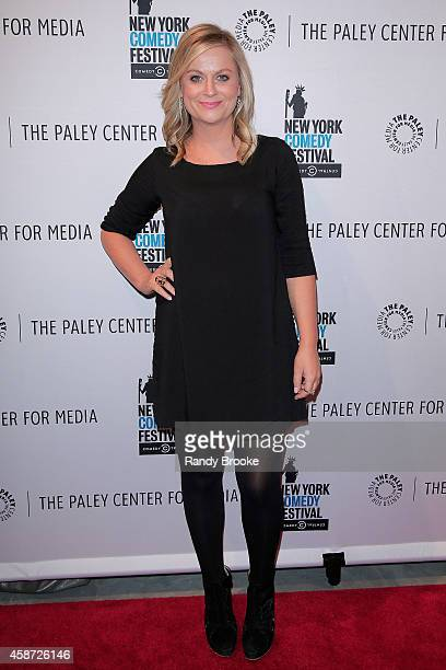 Amy Poehler attends 'Id Isn't Always Pretty An Evening with Broad City' Panel Discussion at The Paley Center for Media on November 9 2014 in New York...