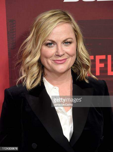 Amy Poehler attends Netflix's Russian Doll Season 1 Premiere at Metrograph on January 23 2019 in New York City