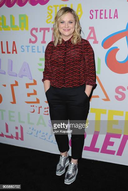 Amy Poehler attends Stella McCartney's Autumn 2018 Collection Launch on January 16 2018 in Los Angeles California