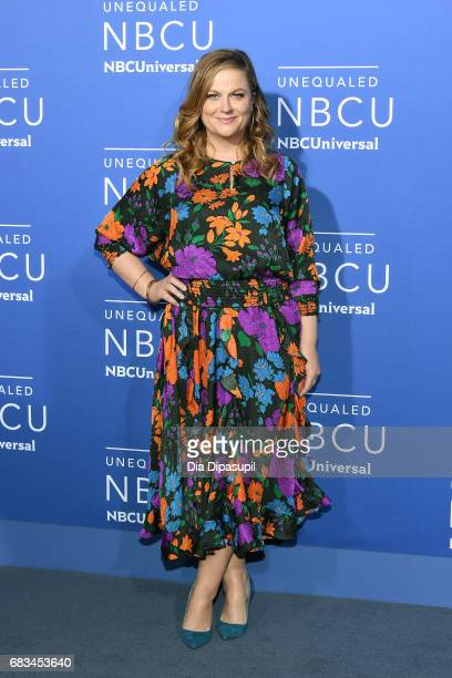 Amy Poehler attends the 2017 NBCUniversal Upfront at Radio City Music Hall on May 15 2017 in New York City