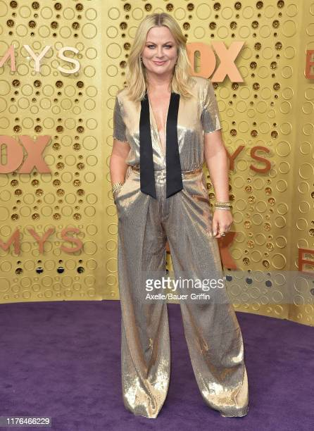 Amy Poehler attends the 71st Emmy Awards at Microsoft Theater on September 22 2019 in Los Angeles California