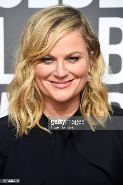 Amy Poehler attends The 75th Annual Golden Globe Awards at The Beverly Hilton Hotel on January 7 2018 in Beverly Hills California
