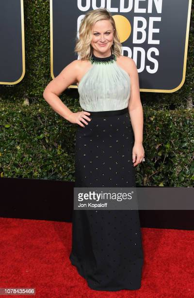 Amy Poehler attends the 76th Annual Golden Globe Awards at The Beverly Hilton Hotel on January 6 2019 in Beverly Hills California