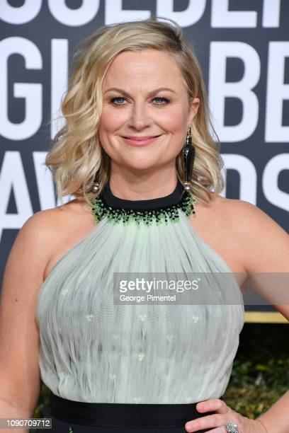 Amy Poehler attends the 76th Annual Golden Globe Awards held at The Beverly Hilton Hotel on January 06 2019 in Beverly Hills California