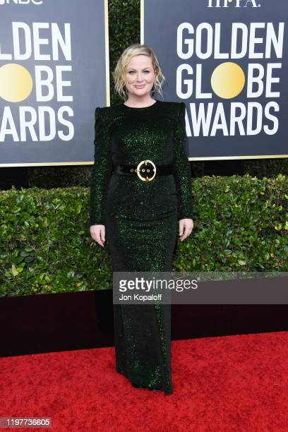 Amy Poehler attends the 77th Annual Golden Globe Awards at The Beverly Hilton Hotel on January 05 2020 in Beverly Hills California