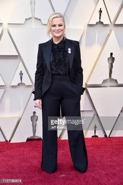 Amy Poehler attends the 91st Annual Academy Awards at Hollywood and Highland on February 24 2019 in Hollywood California