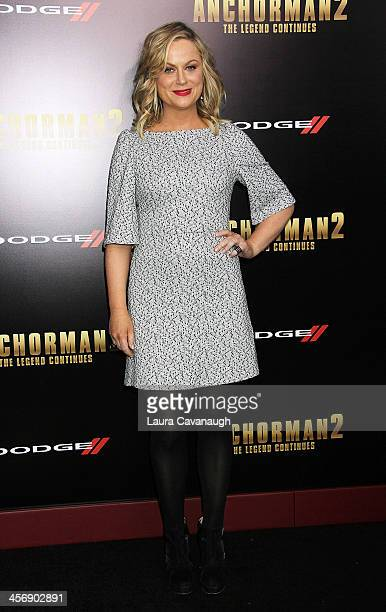 "Amy Poehler attends the ""Anchorman 2: The Legend Continues"" U.S. Premiere at Beacon Theatre on December 15, 2013 in New York City."