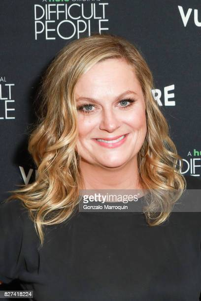 Amy Poehler attends the 'Difficult People' Screening at Crosby Hotel on August 7 2017 in New York City