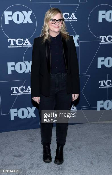Amy Poehler attends the FOX Winter TCA All Star Party at The Langham Huntington, Pasadena on January 07, 2020 in Pasadena, California.