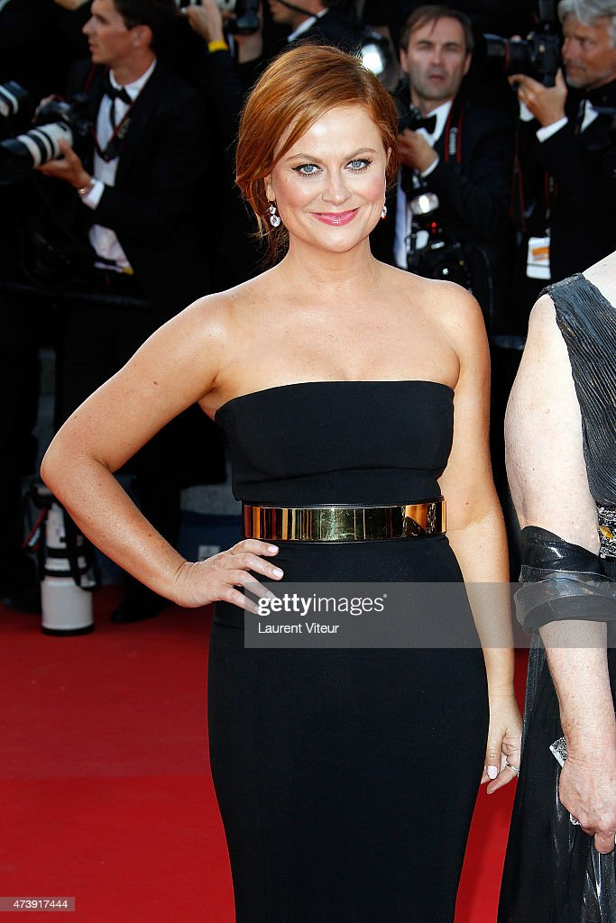 Amy Poehler attends the 'Inside Out' premiere during the 68th annual Cannes Film Festival on May 18, 2015 in Cannes, France.