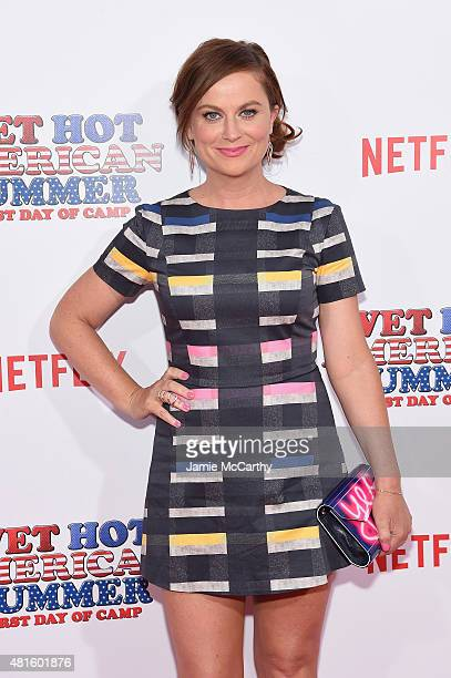 Amy Poehler attends the Wet Hot American Summer First Day of Camp Series Premiere at SVA Theater on July 22 2015 in New York City