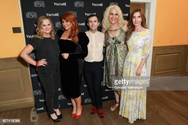 Amy Poehler Julie Klausner Cole Escola Shakina Nayfack attend the 'Difficult People' Screening at Crosby Hotel on August 7 2017 in New York City