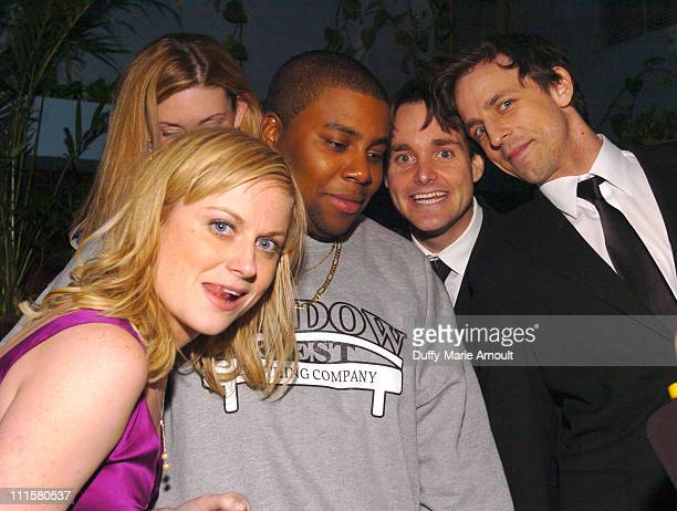 Amy Poehler Kenan Thompson Will Forte and Seth Meyers