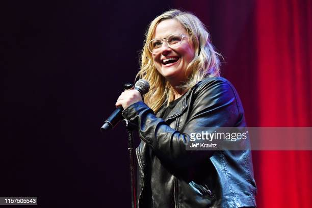 Amy Poehler performs onstage at the 2019 Clusterfest on June 21 2019 in San Francisco California