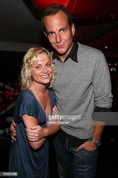 Amy Pohler and Will Arnett attend the Hampton Social @ Ross concert by Tom Petty at the Ross School on August 25 2007 in East Hampton New York