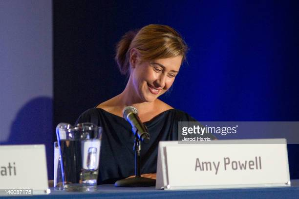Amy Powell President of Digital Marketing at Paramount Studios speaks at the 'Marketing Innovation Finding and Keeping Your Audience' at the Produced...