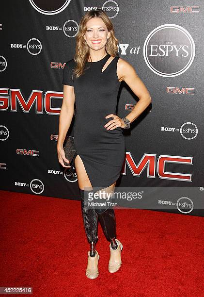 Amy Purdy arrives at the BODY at ESPYS PreParty held at Lure on July 15 2014 in Hollywood California