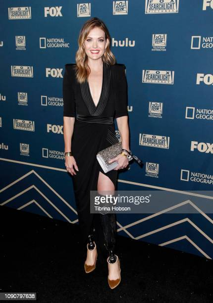 Amy Purdy attends the FOX FX and Hulu 2019 Golden Globe Awards after party at The Beverly Hilton Hotel on January 06 2019 in Beverly Hills California