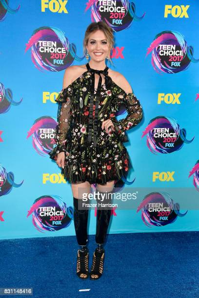 Amy Purdy attends the Teen Choice Awards 2017 at Galen Center on August 13 2017 in Los Angeles California